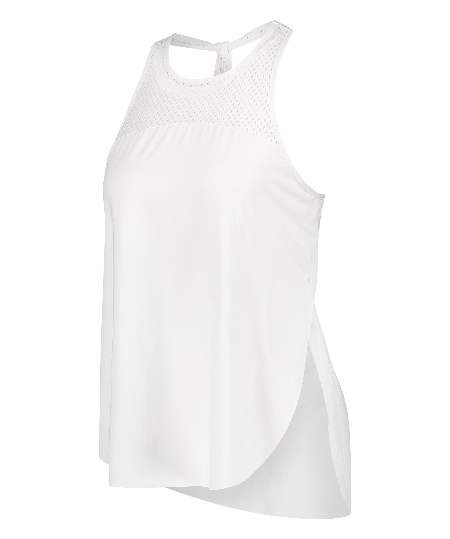 HKMX Tank Top Loose Fit, Weiß, main