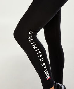 HKMX Sportleggings Level 1, Schwarz