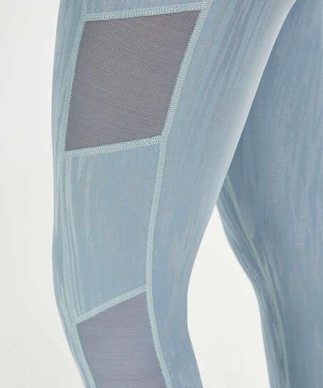 HKMX High Waisted Sportleggings Mojave, Blau