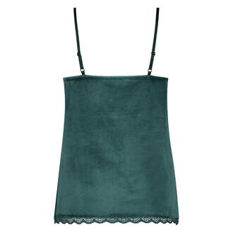 Cami Velours Lace, grün