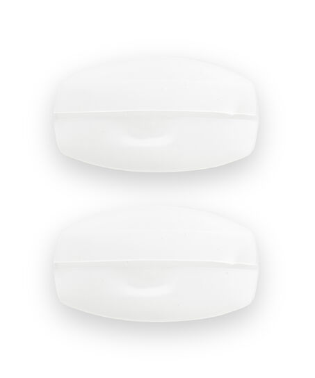 Komfortable Silikon-BH-Träger, Weiß