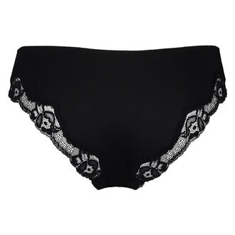 Slip Secret Lace, Schwarz