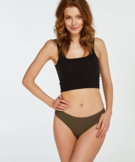 Invisible String Lace Back, grün