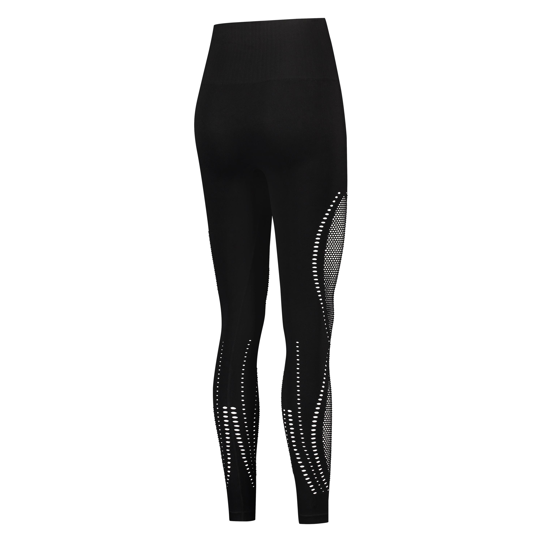 HKMX Nahtlose Sportlegging mit hoher Taille Comfort, Schwarz, main