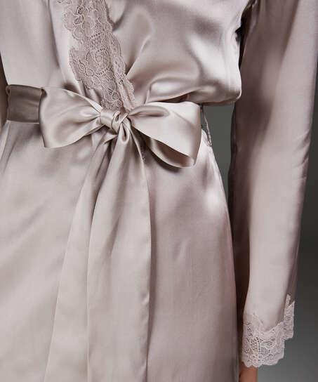 Kimono-Seidenspitze, Rose