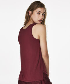 Top Jersey Lace, Rot