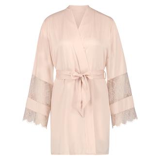 Satin-Kimono Bridal, Rosa