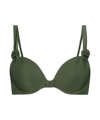 Vorgeformtes Bügel-Bikinitop Luxe Cup E +, grün