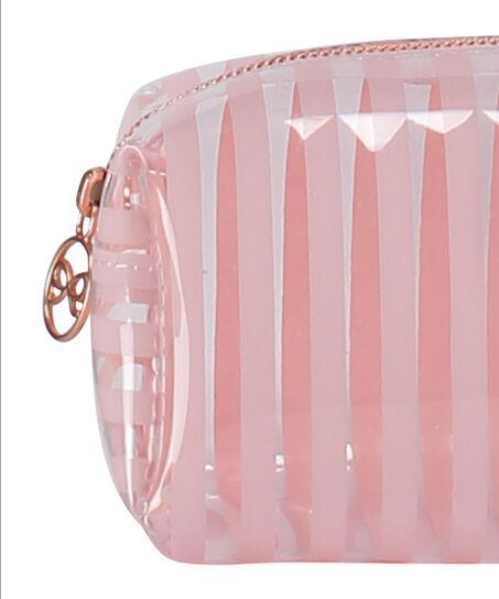 Kosmetiktaschen Stripe Plastic, Rose