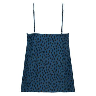 Camitop Woven Lace, Blau