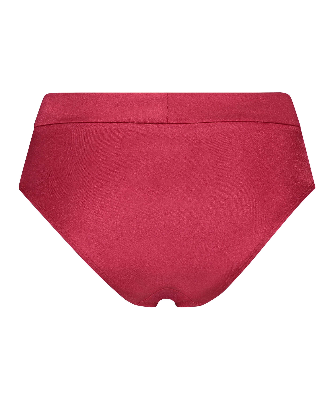 Hohes Bikini-Unterteil Lola, Rot, main