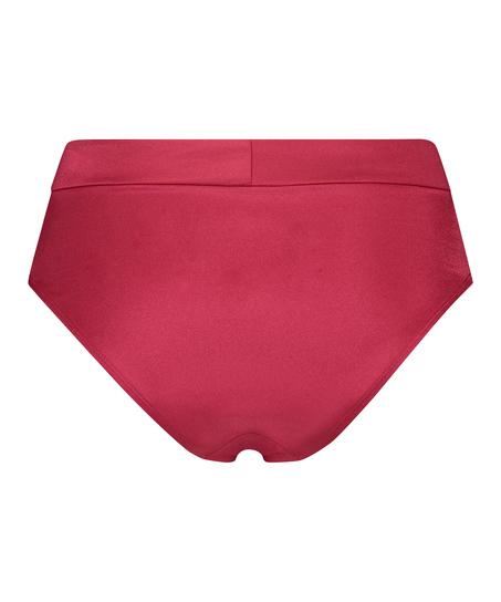 Hohes Bikini-Unterteil Lola, Rot