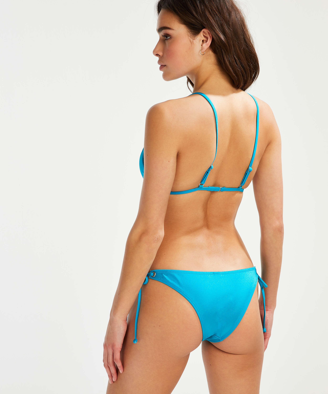 Cheeky Tanga Bikini-Slip Celine, Blau, main