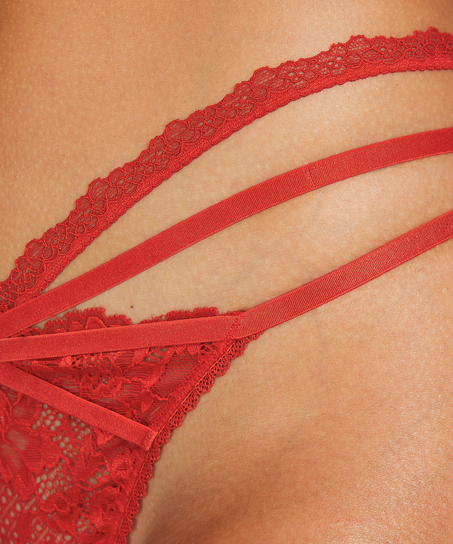 Tanga-String Norma, Rot