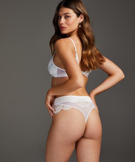 Bralette Hannako, Weiß