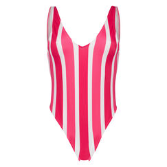 Badeanzug Candy Stripes, Rose
