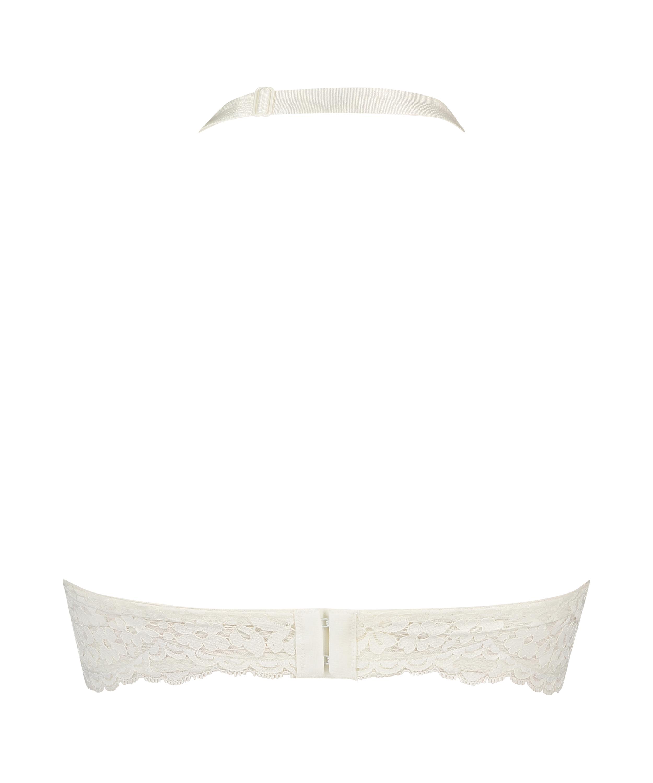 Träger-Bralette Rose, Weiß, main