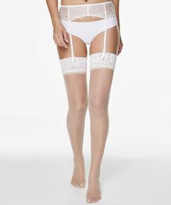 2 Paar Stockings 15 Denier Lace, Teint