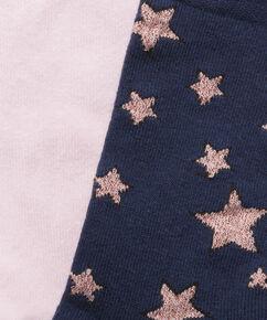 2 Paar Baumwollsocken, Blau