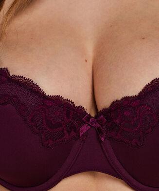 Vorgeformter Bügel-BH Secret Lace, Lila