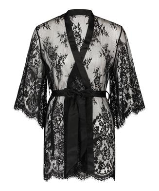 Kimono Lace Isabelle, Schwarz