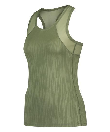 HKMX Sport slim fit tank top, grün