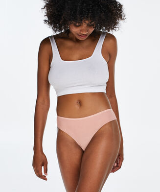 Invisible Brazilian Lace Back, Rose