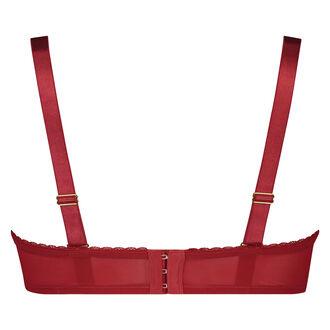 Vorgeformter Strapless-Bügel-BH Latrice, Rot