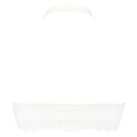 Nahtloser Bralette Shiloh, Weiß