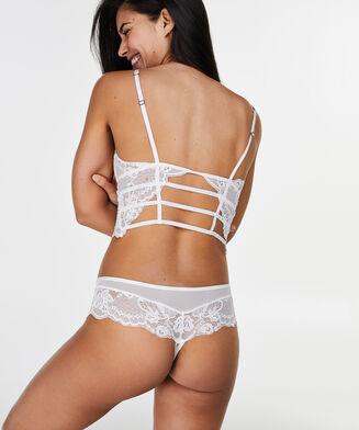Bralette Roberta, Weiß