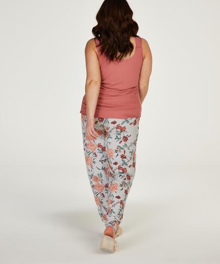 Pyjamahose aus Jersey, Grau