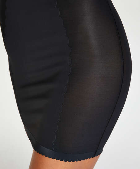 Formendes Scuba Kleid - Level 3, Schwarz