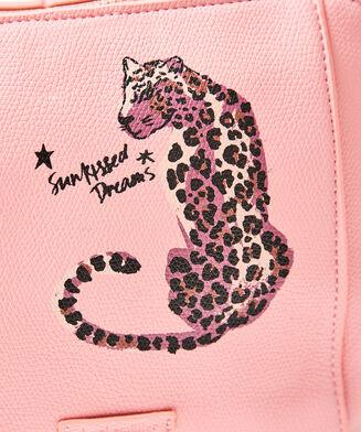Make-up-Tasche Desert Panther, Rose