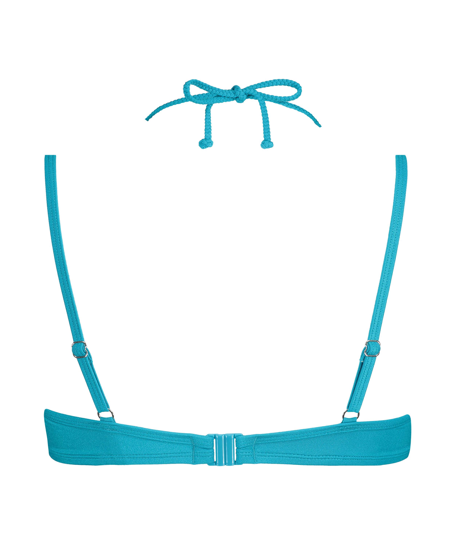 Vorgeformtes Bügel-Bikini-Oberteil Celine, Blau, main