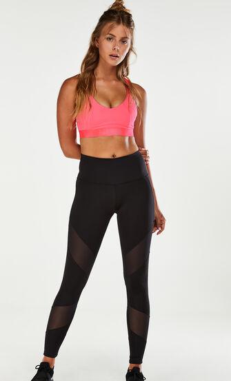 HKMX Sport-BH The Yoga Crop Level 2, Rose