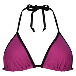 Triangel-Bikini-Oberteil Haze, Rose