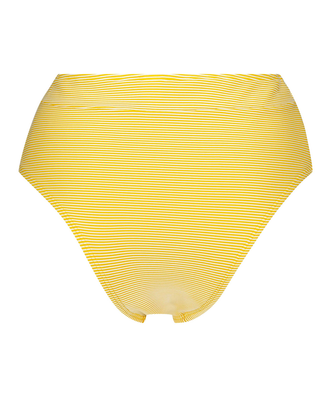 Hohe Brazilian Bikinihose Carmel, Gelb, main