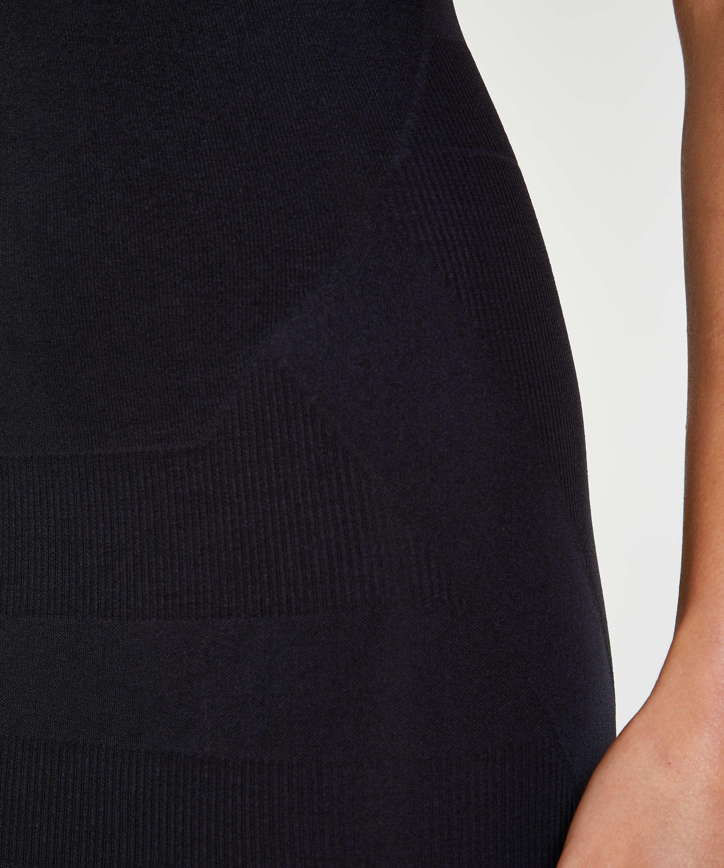 Straffendes Kleid - Level 2, Schwarz, main