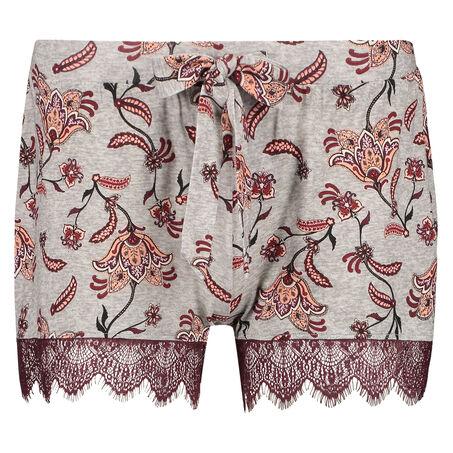 Shorts Jersey, Grau