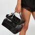 Dreierpack Make-up Tasche, Schwarz
