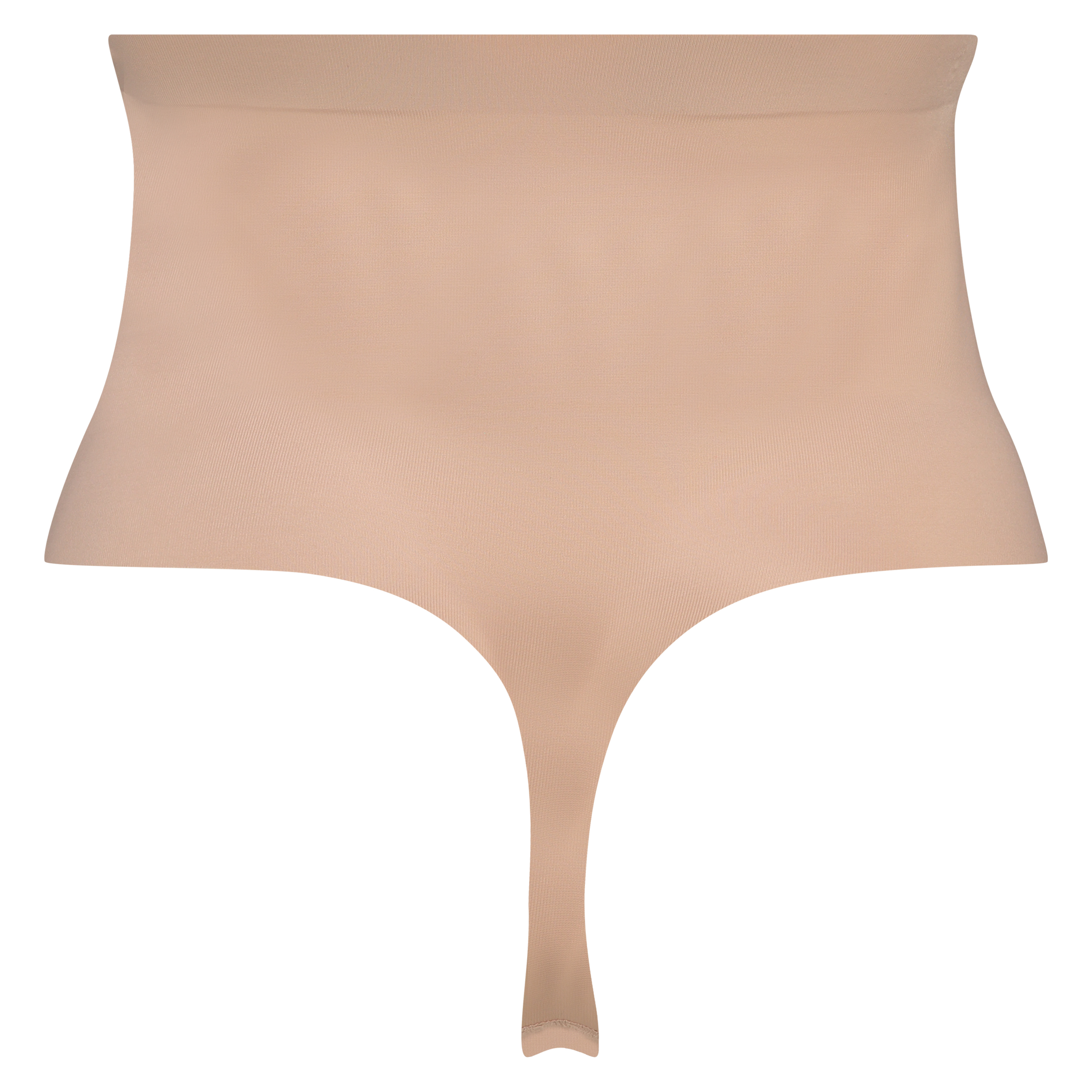 Formender Scuba-Tanga mit hoher Taille - Level 3, Beige, main