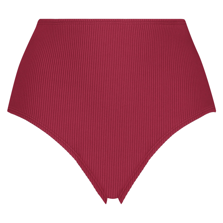 Hohes Bikinihöschen Golden Rings, Rot, main