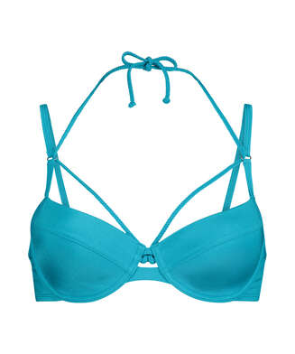 Bikini-Oberteil Celine, Blau