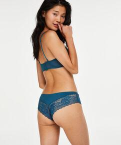 Vorgeformter Bügel-BH Maya, strapless, Blau