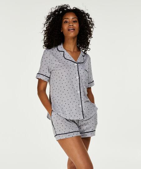 DKNY-Pyjamaset, Grau