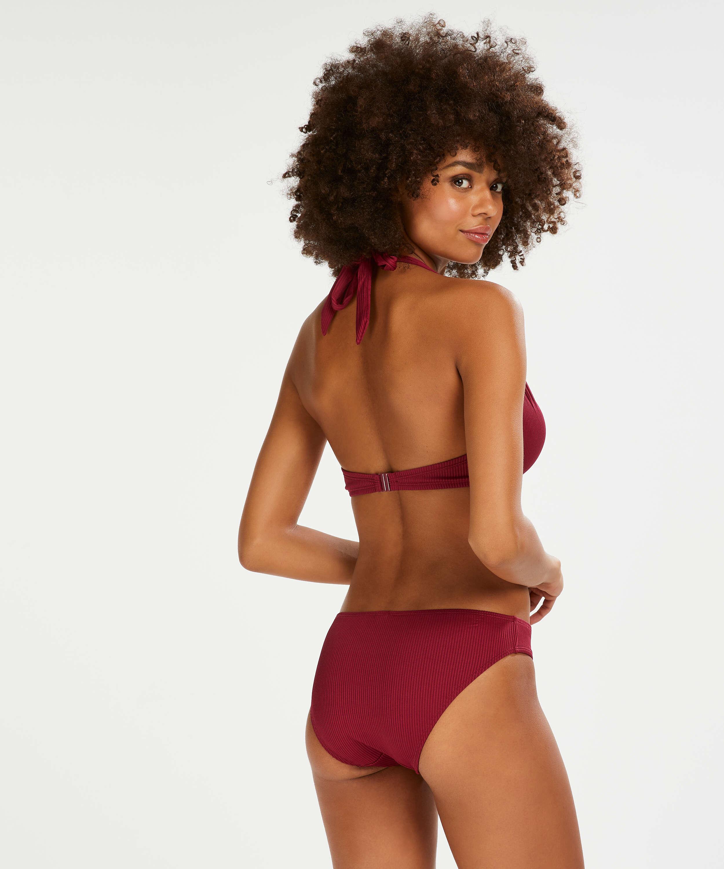 Vorgeformtes Bügel-Bikinioberteil Golden Rings, Rot, main