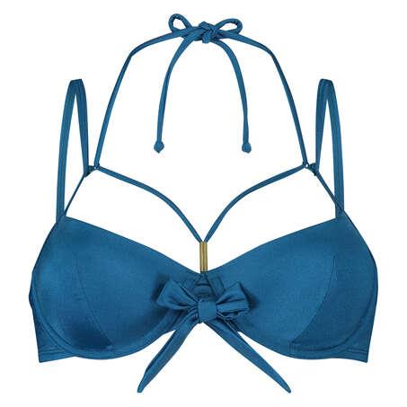 Vorgeformtes Bügel-Bikinitop Sunset Dream, Blau