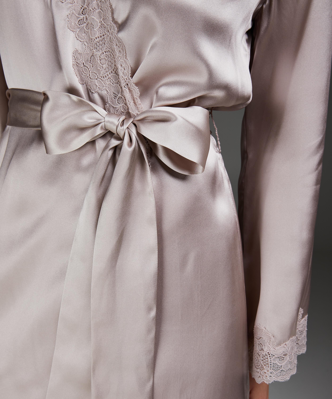 Kimono-Seidenspitze, Rosa, main