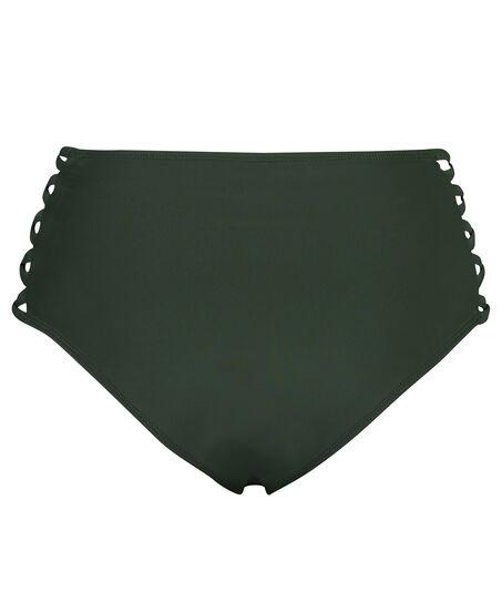 Hoher Cheeky-Bikinislip Sunset Dream, grün