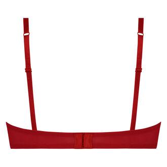Unwattierter Bügel-BH Donatella, Rot